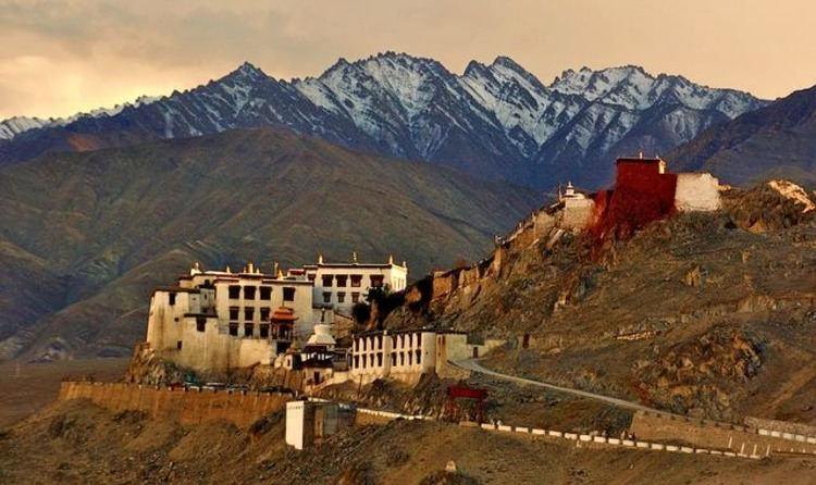 Monastère de Spituk Ladakh
