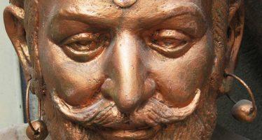 une-sculpture-de-shivaji