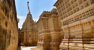 lodurva Jain temple au Rajasthan Inde