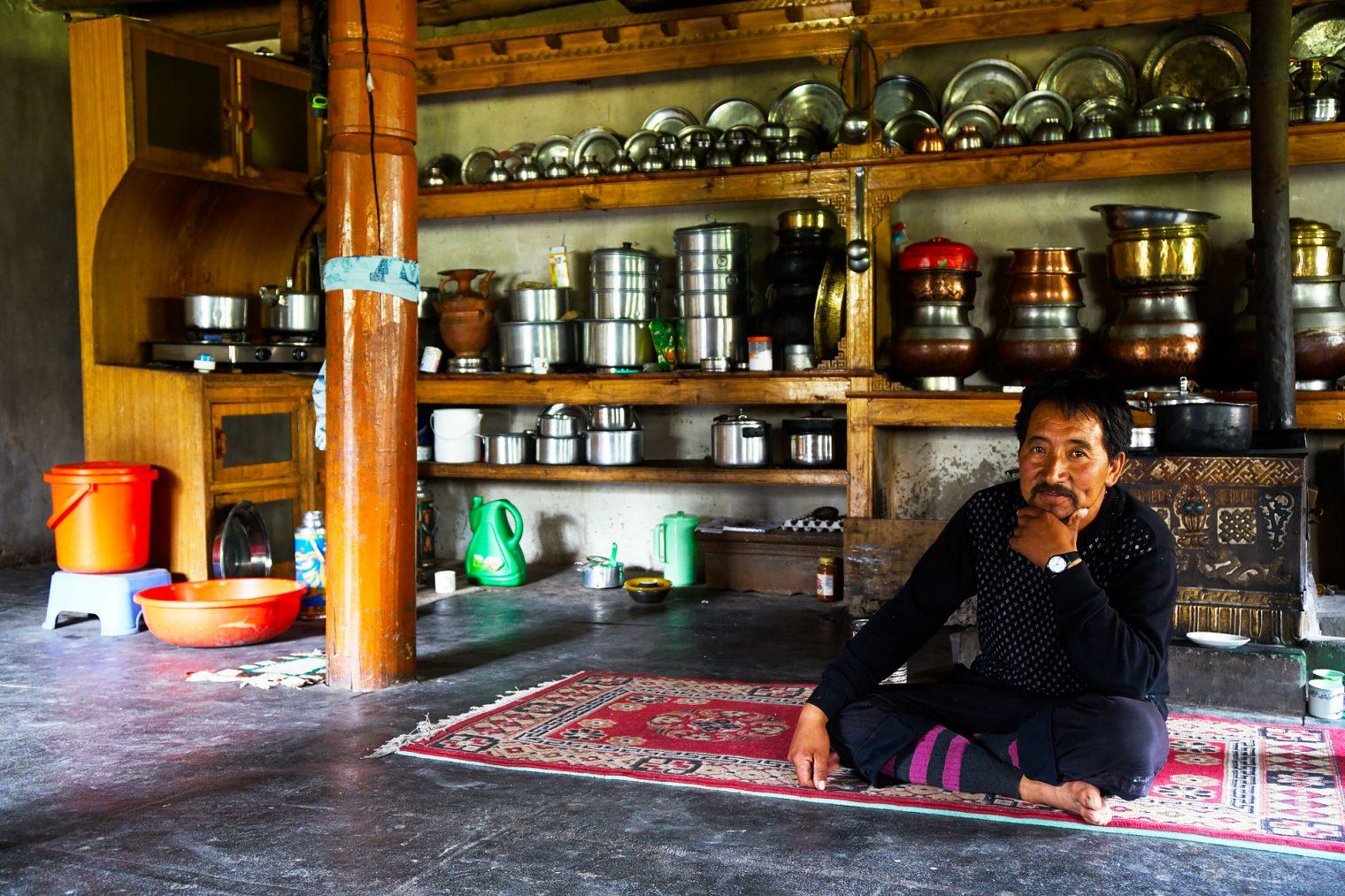 hemis-shukpachan chez habitent au ladakh