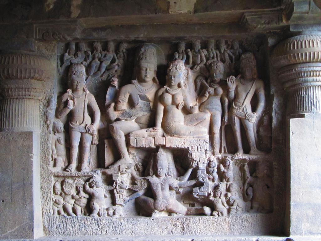 Ellora grottes en Inde