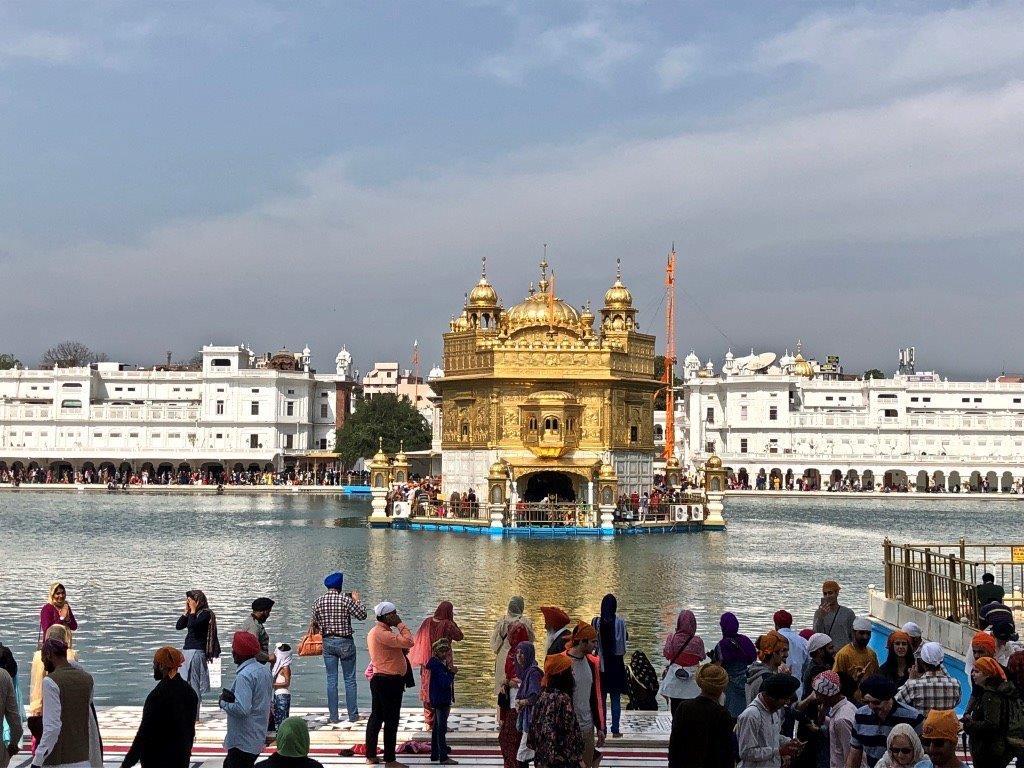 Temple d'or Amritsar en Inde, Voyage, Vacance